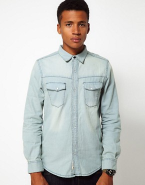 Image 1 of Bellfield Denim Shirt