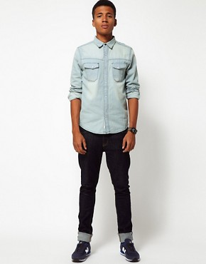Image 4 of Bellfield Denim Shirt