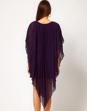 Image 2 ofASOS PETITE Pleated Dress