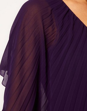 Image 3 ofASOS PETITE Pleated Dress