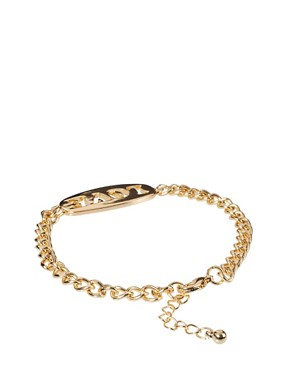 Image 2 ofASOS Love &amp; Hate Double ID Bracelets
