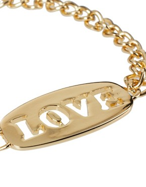 Image 4 ofASOS Love &amp; Hate Double ID Bracelets