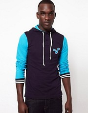 Voi Varsity Polo Shirt Hooded