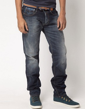 Image 1 ofReplay New Doc Regular Tapered Jeans