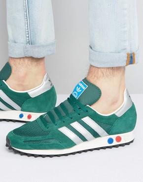 Зеленые кроссовки adidas Originals LA OG BB2818 - Зеленый