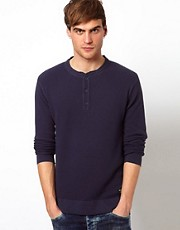 Jack &amp; Jones Waffle Jumper