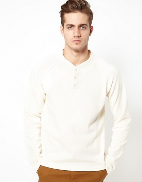 Image 1 ofJack &amp; Jones Henley Sweat