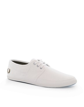 Image 1 ofFred Perry Tonic Plimsolls