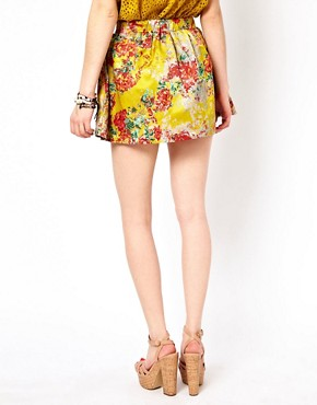 Image 2 ofd.RA Printed Skater Skirt