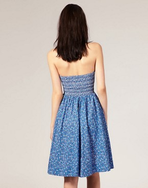 Image 2 ofRiver Island Heart Beaded Bandeau Dress