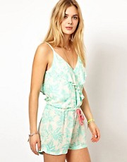 Pepe Jeans Printed Playsuit