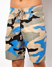 Stussy Beach Camo Board Shorts