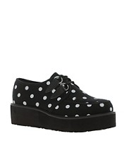 Creepers con plataforma plana VIXON de ASOS