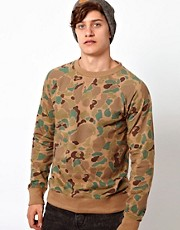 Another Influence Camo Sweatshirt