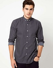Peter Werth Shirt With Geo Print