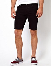 ASOS Denim Shorts In Super Skinny Fit