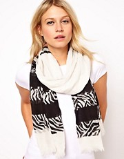 Oasis Zebra Scarf