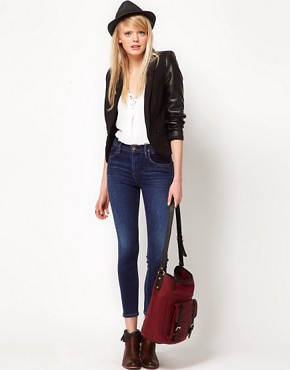 Image 4 ofGoldsign Virtual Skinny High Waisted Jeans In Zagire