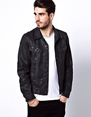 Lee Jacket Rider Denim Coated