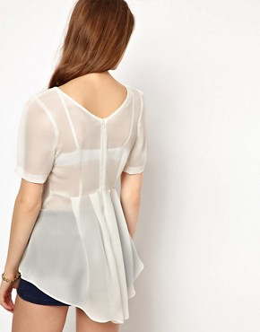 Image 2 ofA Wear Fishtail Top