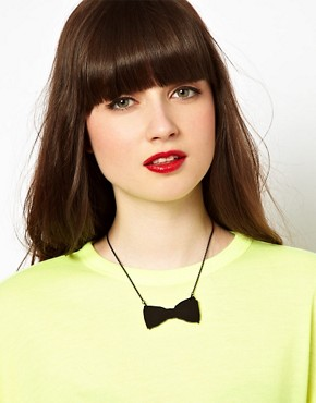 Image 3 ofTatty Devine Bow Tie Necklace