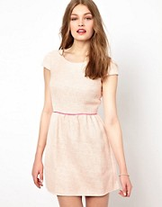 A Wear Tweed Skater Dress