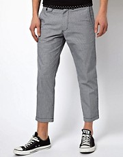 Black Chocoolate Houndstooth Trouser