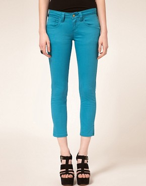Image 1 ofMonkee Genes Fairtrade Crop Skinny Jeans
