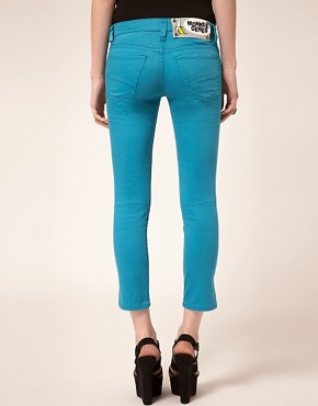 Image 2 ofMonkee Genes Fairtrade Crop Skinny Jeans