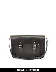 Cambridge Satchel Company Black Leather 11&quot; Satchel
