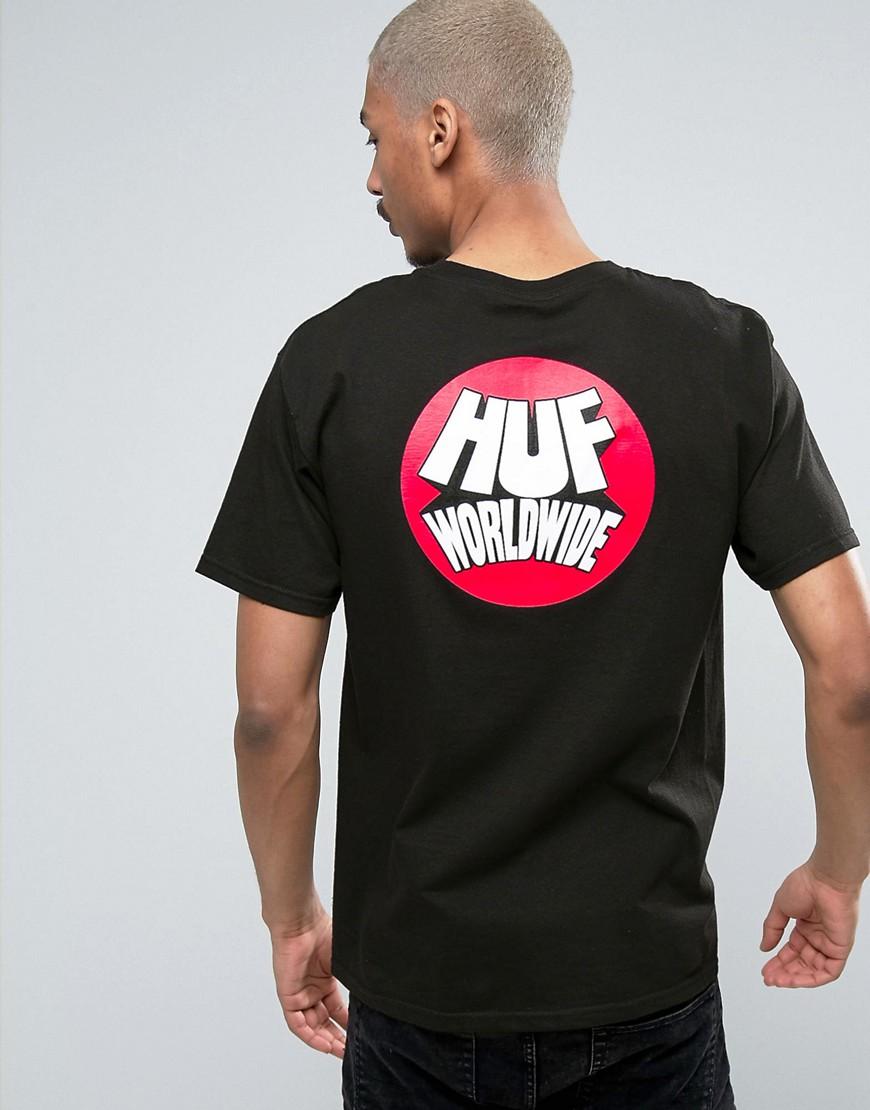 huf-worldwide-t-shirt-avec-imprim-a-dans-le-dos-noir