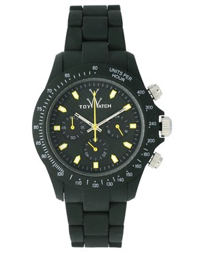 Image 1 ofToy Watch VVC02HG Green Rubber Strap Watch