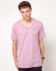 G Star - 1 - T-shirt ampia mlange con taschino