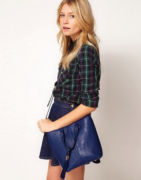 Image 3 ofASOS Mini Tote Bag With Tassel Detail