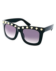 ASOS Studded Top Visor Sunglasses