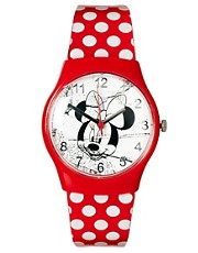 Reloj de Minnie Mouse con lunares de Disney