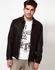 Levis Leather Jacket Bernardino Biker