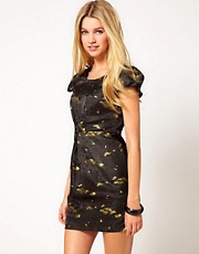 Jovonna Jacquard Dress