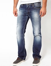 Diesel - New Fanker 8B9 - Jeans bootcut regular