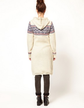 Image 2 ofKomodo &#39;Pixie&#39; Fairisle Knitted Coat