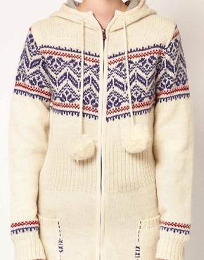 Image 3 ofKomodo &#39;Pixie&#39; Fairisle Knitted Coat