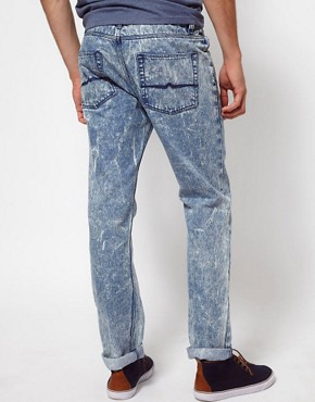 Image 2 ofASOS Slim Jeans In Acid Wash