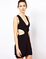 Oh My Love Dress With Cut Out Sides