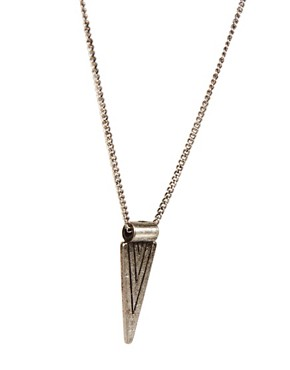 Image 4 ofIcon Brand Triangle Necklace