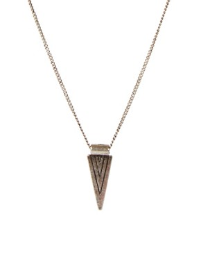 Image 1 ofIcon Brand Triangle Necklace