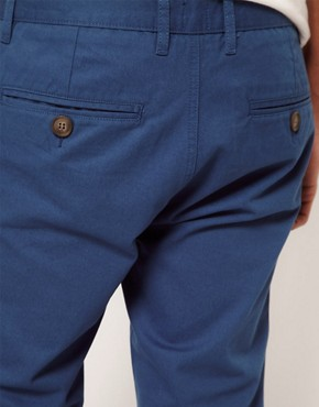 Image 3 of ASOS Slim Chino In Twill