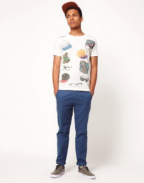 Image 4 of ASOS Slim Chino In Twill
