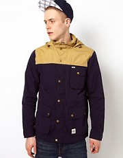 Wemoto Jacket with Contrast Shoulders