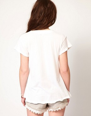 Image 2 ofWildfox Neon Abbey Desert T-Shirt