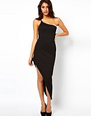 ASOS Maxi Dress With Asymmetric Hem